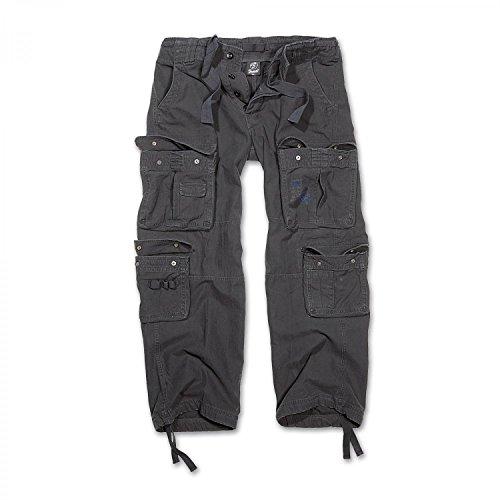 Brandit Pure Vintage Trousers Pantaloni tempo libero nero XL