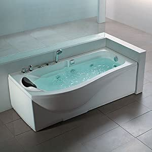 ap a020 whirlpool spa jacuzzi bath 1700mm x 740mm