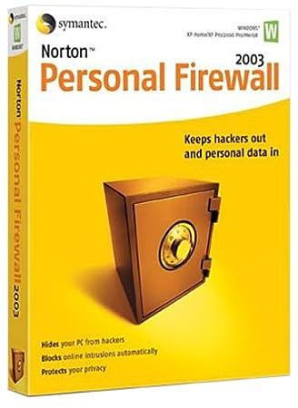 Norton Personal Firewall 2003