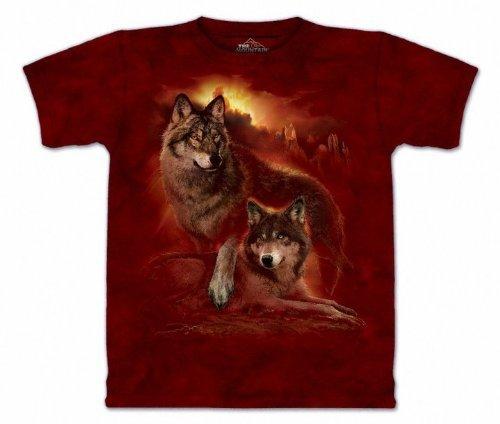 The Mountain Wolf Sunset Purple T-shirt M