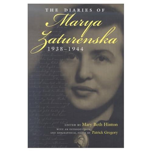 The Diaries of Marya Zaturenska, 1938-1944