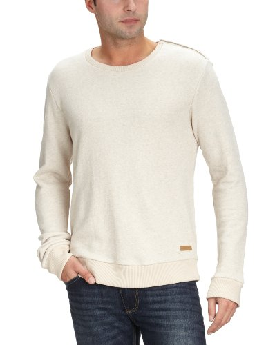 Selected Homme Jeans Maze crew neck sweat Men's Jumper Nude Melange Medium