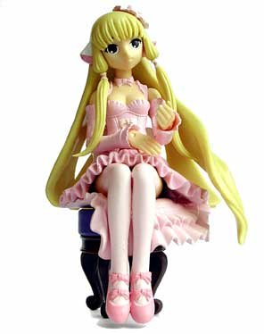 Chobits : Chi (Elda) in Pink Dress Action Figure