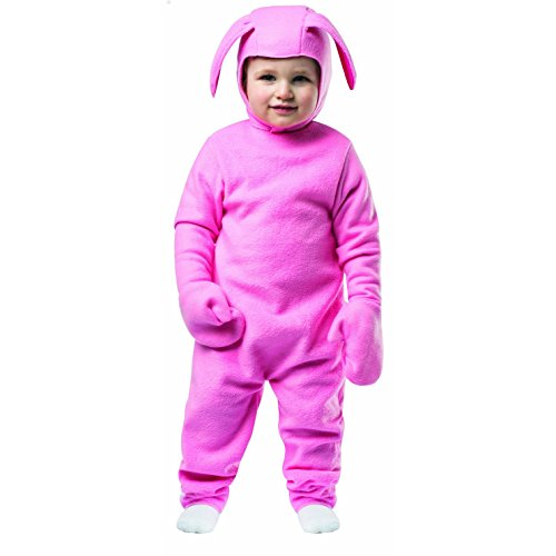 Ralphie Bunny Suit Toddler Costume A Christmas Story Easter Boys Girls Pink Baby