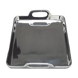 Product Image Aluminum Rectangular Serving Tray