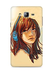 Amez designer printed 3d premium high quality back case cover for Samsung Galaxy ON5 (Heal my heart)