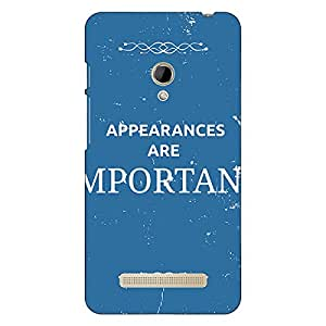 Jugaaduu SUITS Quotes Back Cover Case For Asus Zenfone 5