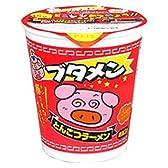 【15個入り】カップブタメンとんこつ味 37g 4902775042703
