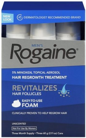 Rogaine for Men Hair Regrowth Treatment, 5% Minoxidil