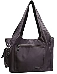 JINU Womens Handbag (Brown)