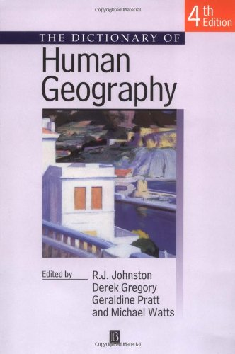 dictionary of human geography amazon