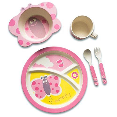 couverts pour enfant stra enr uber set de vaisselle enfant motif papillon les enfants harnais. Black Bedroom Furniture Sets. Home Design Ideas