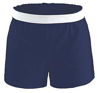 Soffe Big Girls' Athletic Short, Navy, X-Small
