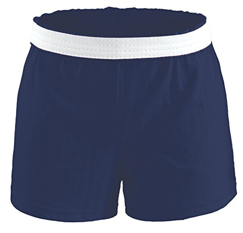Soffe Athletic Youth Cheer Shorts, Navy, X-Large Soffe Cheer Shorts