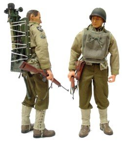 "Buy Low Price Blue Box Elite Force: WWII US Army Mortar – Corp. ""Red"" Parker 12″ Figure (B0006NDD8M)"