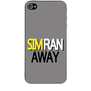 Skin4gadgets SIMRAN AWAY Phone Skin for APPLE IPHONE 4