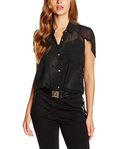 Versace Jeans Bluse schwarz