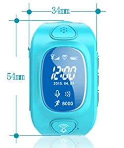 Annbully GPS Trackers for Kids/child GPS Watch/bracelet/children GPS Wristband/positioning Wacth/anti-lost/personal Tracker
