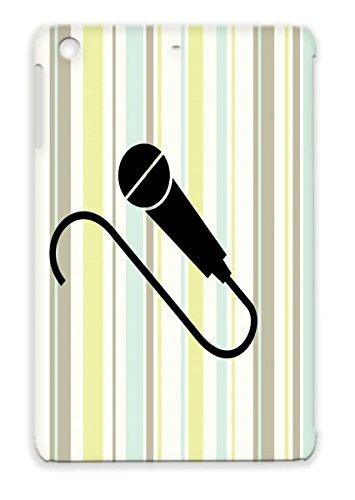 Tpu Black For Ipad Mini Mic F1 Karaoke Rock Singer Pop Star Hip Hop Music Superstar Band Dj Microphone Cover Case