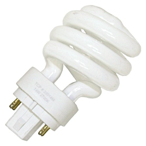 Tcp 33046 - 33014M Twist Pin Base Compact Fluorescent Light Bulb