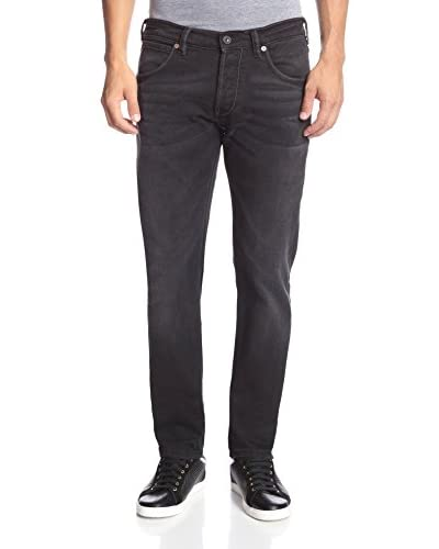 French Connection Men's 11 Ounce I Schwarz Skinny Jean