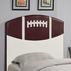 Bowdoin Football Twin Upholstered Headboard by Wildon Home