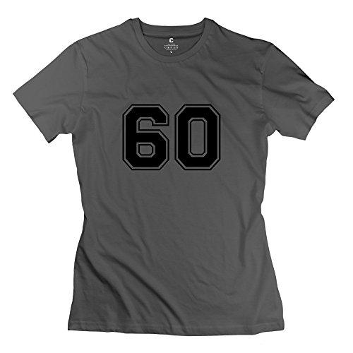 Zhitian Women'S 60 T-Shirt - Xxl Deepheather