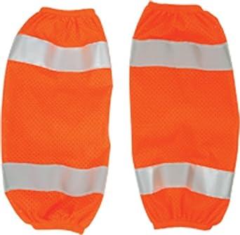 ML Kishigo 3931 Polyester Mesh High-Viz Gaiter, Orange