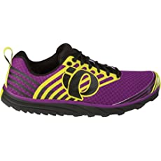 Pearl iZUMi Women's W EM Trail N 1 Running Shoe,Black/Orchid,9 M US