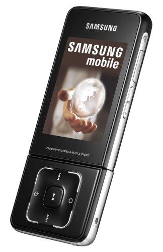Samsung SGH-F500 schwarz UMTS / HSDPA Handy