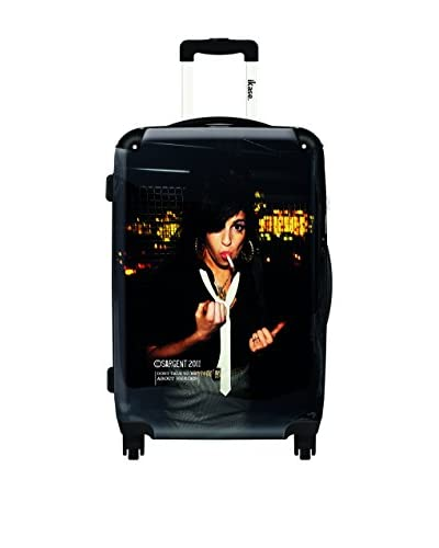 Ikase Amy Winehouse 1 Rolling Luggage, Multi, 10X16X24