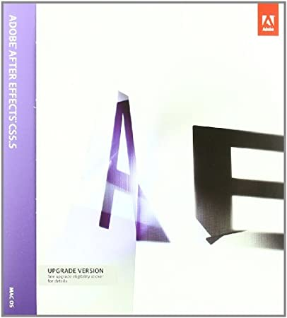 Adobe CS 5.5 After Effects, Upgrade version From After Effects CS 2, 3, 4 (Mac)