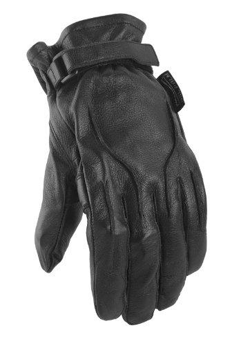 Power Trip Jet Black Glove Ladies X-Small