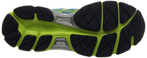 ASICS Women's Gel-Cumulus 16 (2A) Running Shoe,Turquoise/Sharp Green/Navy,9.5 2A US
