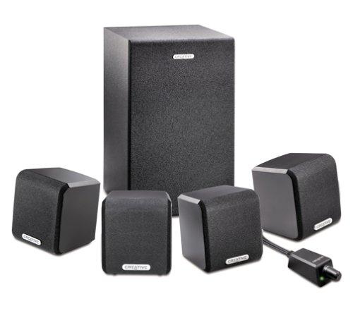Creative Labs SBS 4.1 450 Computer Speaker System (5 Speakers)