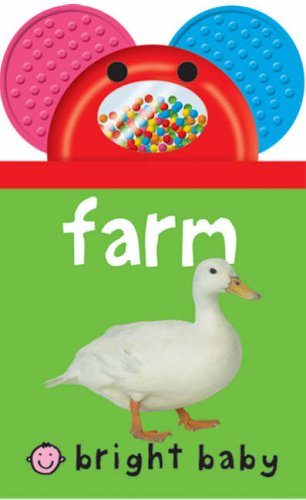 Baby Shaker Teethers - Farm