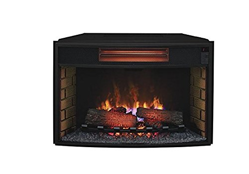"Complete Set Seagate Media Mantel With 32"" Infrared Spectrafire Plus Insert With Safer Plug"