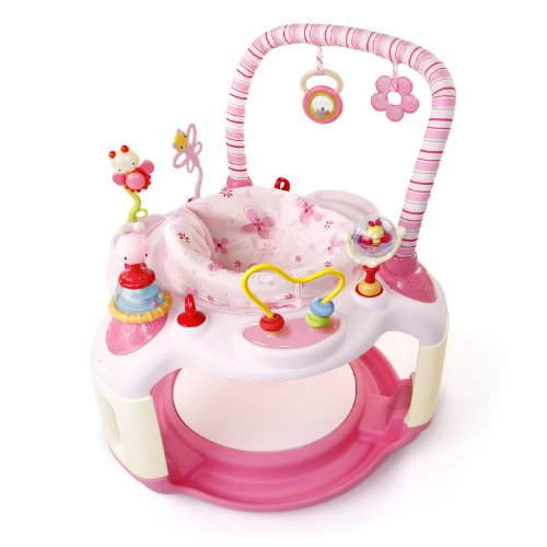 Bright Starts Bounce-A-Bout Activity Center, Pink, Style May Vary