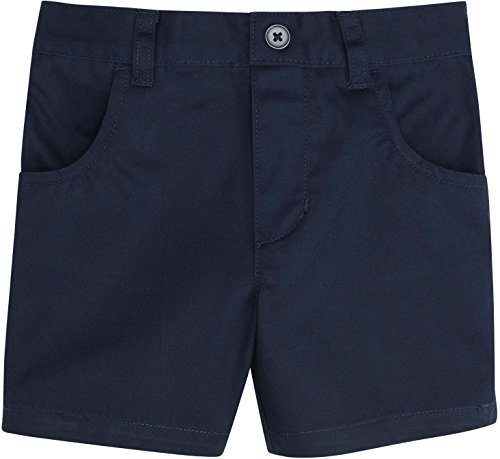French Toast Big Girls Pull-On Short, Navy, 12
