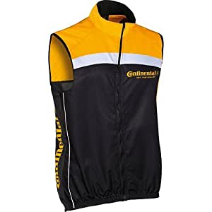 Amazon.com : Continental Gilet Conti yellow / black X-large : Sports