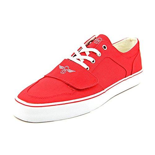 Creative Recreation Men's Cesario Lo XVI Sneaker, Red, 10.5 M US
