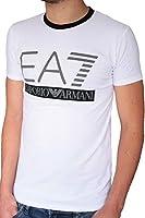T-shirt EA7 EMPORIO ARMANI homme manches courtes blanc