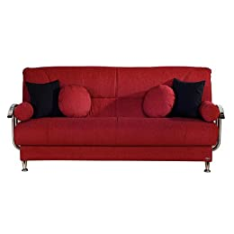 Contemporary microfiber sleeper sofa from target living room furniture