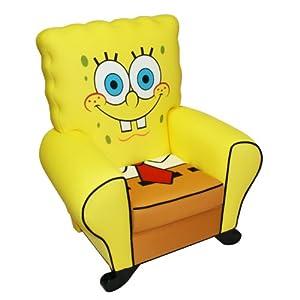 Nickelodeon Icon Chair, Sponge Bob from Nickelodeon