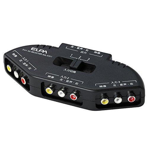 Asahi Denki AVセレクター 3入力1出力 ASL-E311