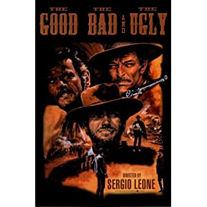 The Good, The Bad, &amp; The Ugly Movie (Clint Eastwood) Poster Print - 24x36