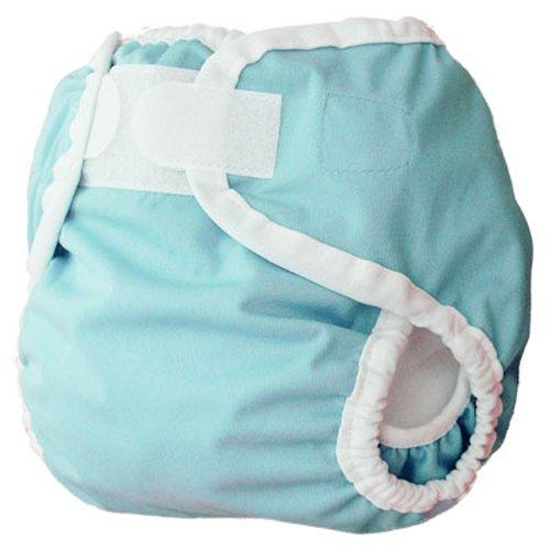 Thirsties Diaper Cover, Aqua, X-Small (5-12 lbs)