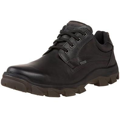 ECCO Men's Track 5 Low Outdoor Shoe,Black/Warm Grey,41 EU (US Men's 7-7.5 M)
