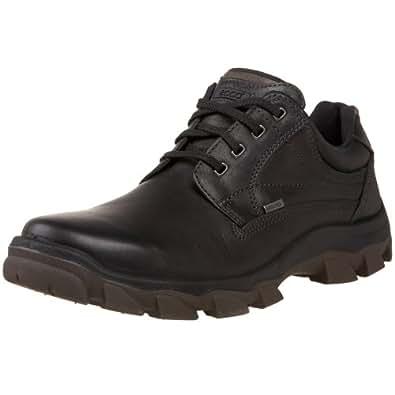 ECCO Men's Track 5 Low Outdoor Shoe,Black/Warm Grey,40 EU (US Men's 6-6.5 M)