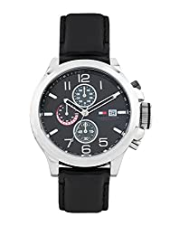 Tommy Hilfiger Chronograph Black Dial Mens Watch - TH1790809J